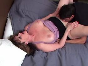 Chubby mature has oral fuck and gets cock in pussy