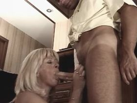 Mom has fuck in all holes and gets cumshot on tits